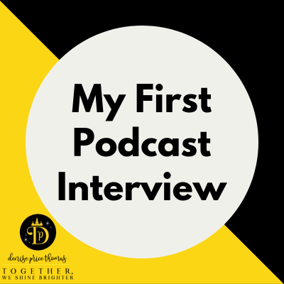 Me, My Cell & I ~ Finding the Fun in my First Podcast Interview